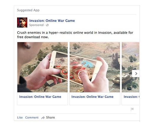Facebookのカルーセル広告とは