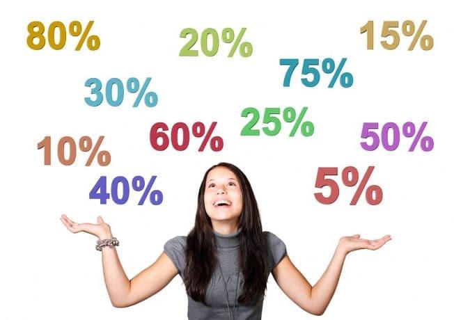 リスティング広告のクリック率の相場